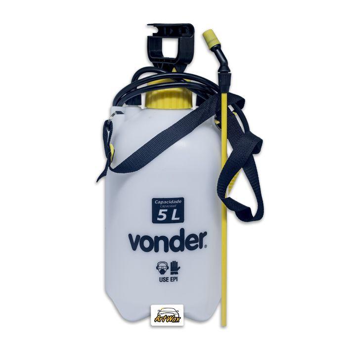 Pulverizador Lateral 5L - Com Compressão Prévia Vonder