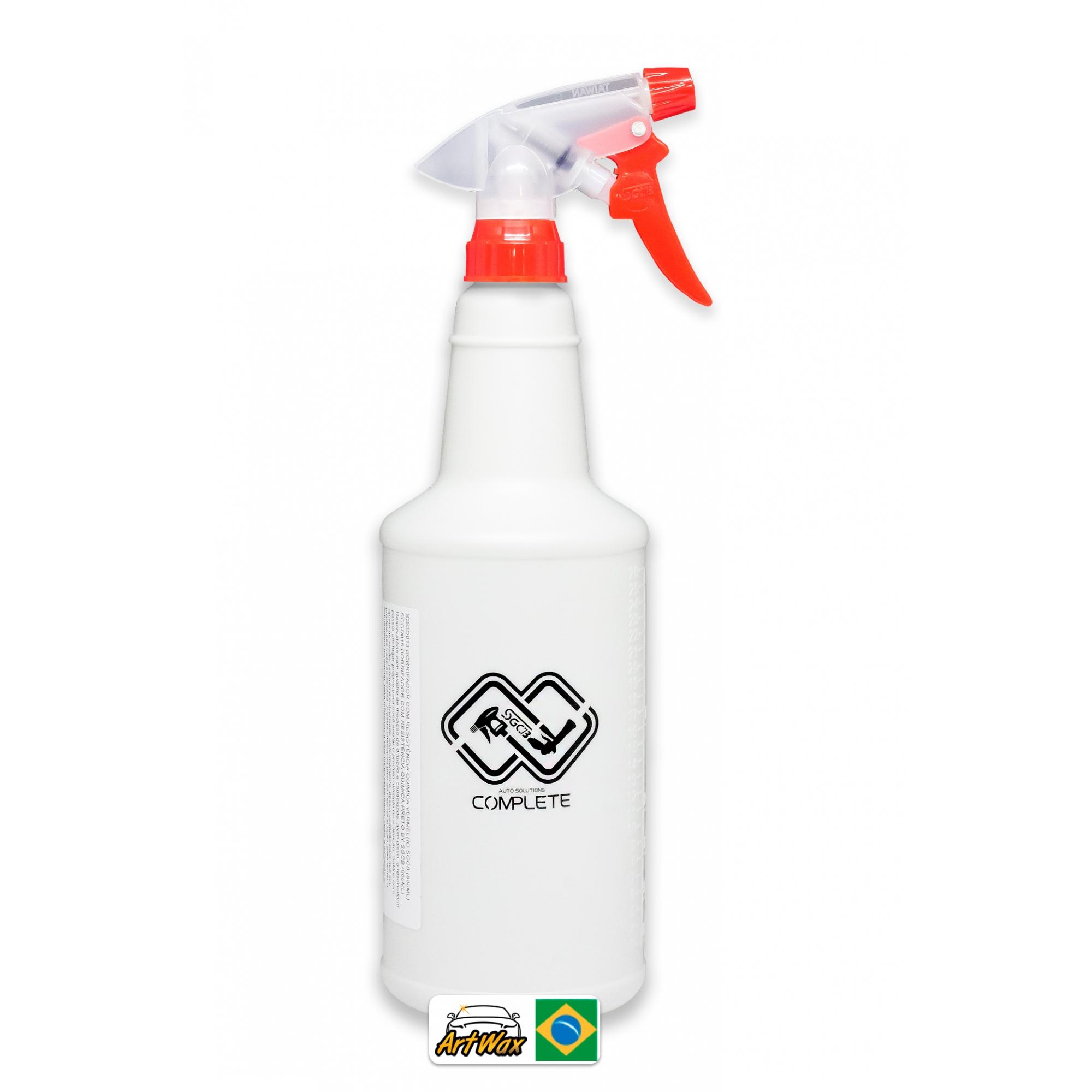 Pulverizador Vermelho Alta Pressão SGCB 800ml Resistente a Químico