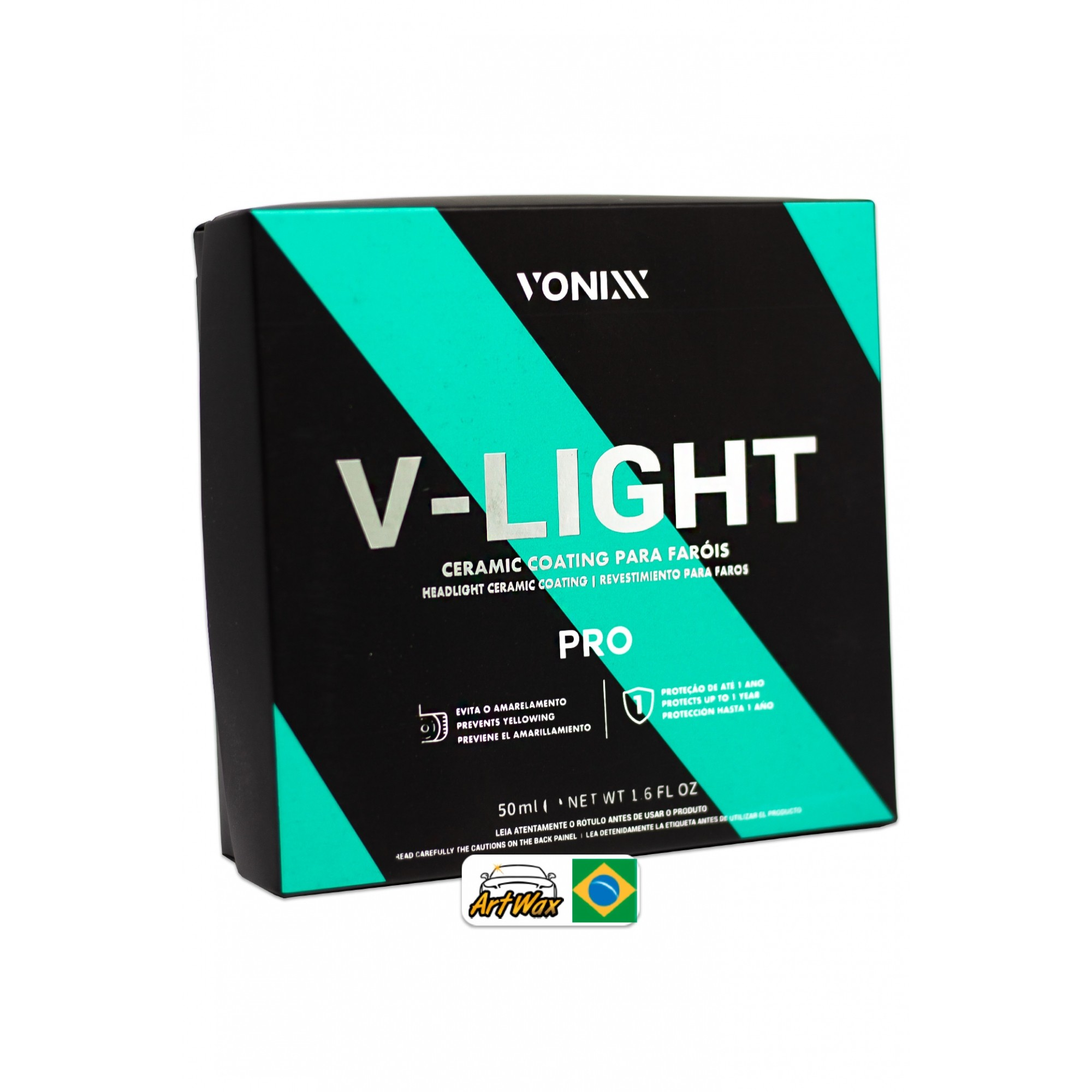 Revestimento Para Faróis Vonixx V-Light - 50ml