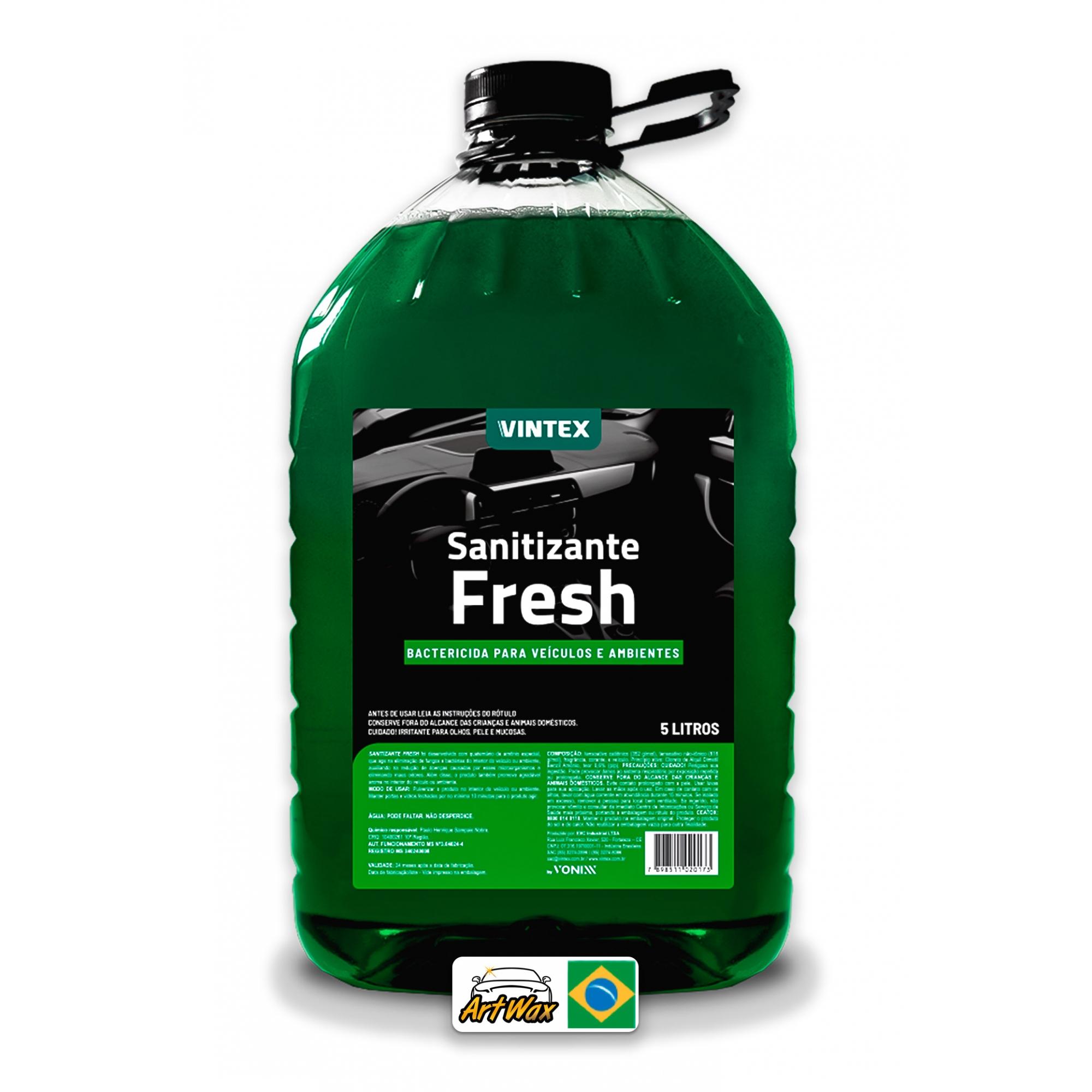 Sanitizante Fresh 5L - Aromatizante com Poder Bactericida