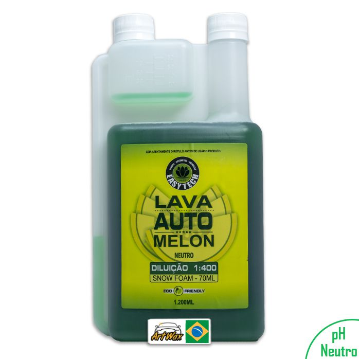 Shampoo Automotivo Melon Easytech 1:400 - 1,2l Concentrado