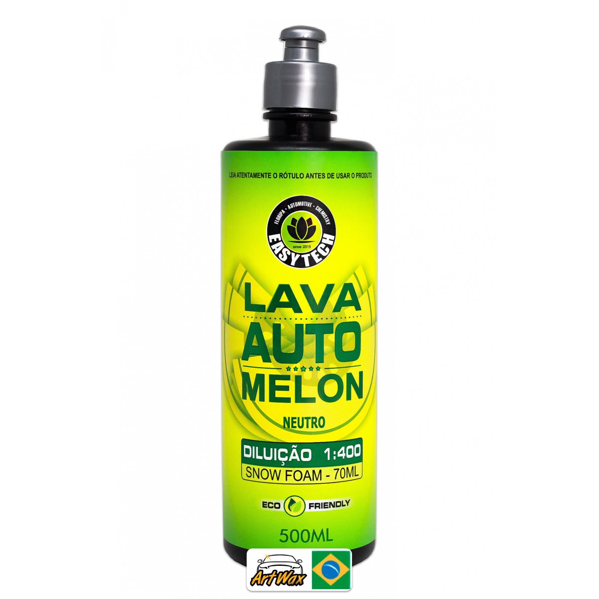 Shampoo Automotivo Melon Easytech 1:400 - 500ml Concentrado