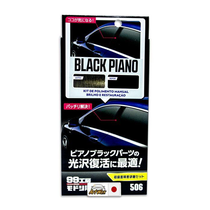 Soft99 Black Piano - Nano Polidor Manual 80ml