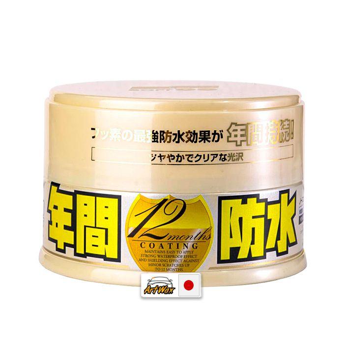 Soft99 Cera Protetora Fusso Coat Wax Light Color 200g
