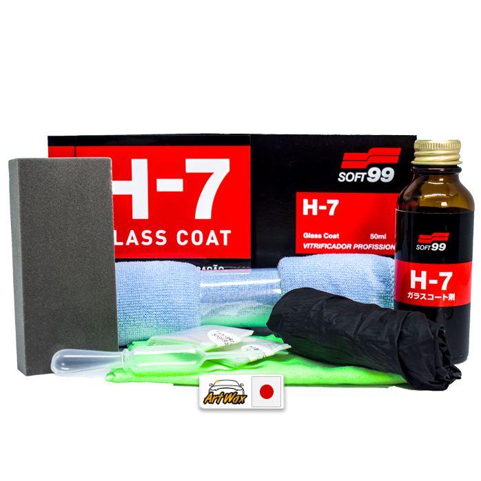 Soft99 H-7 Vitrificador 50ml - 3 Anos de Proteção