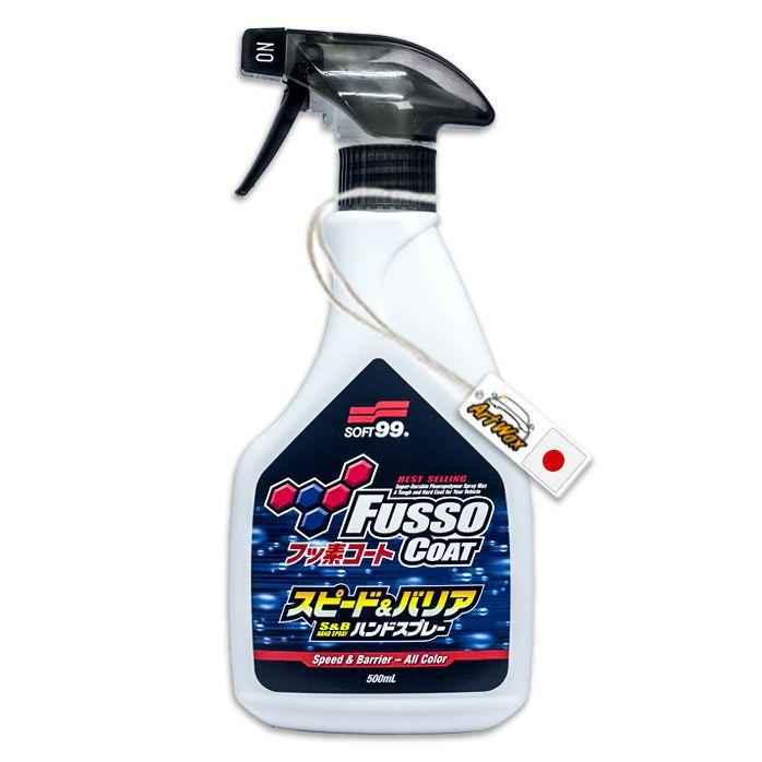 Soft99 Selante Spray para Manutenção e Proteção de Pintura Fusso Speed 500ml