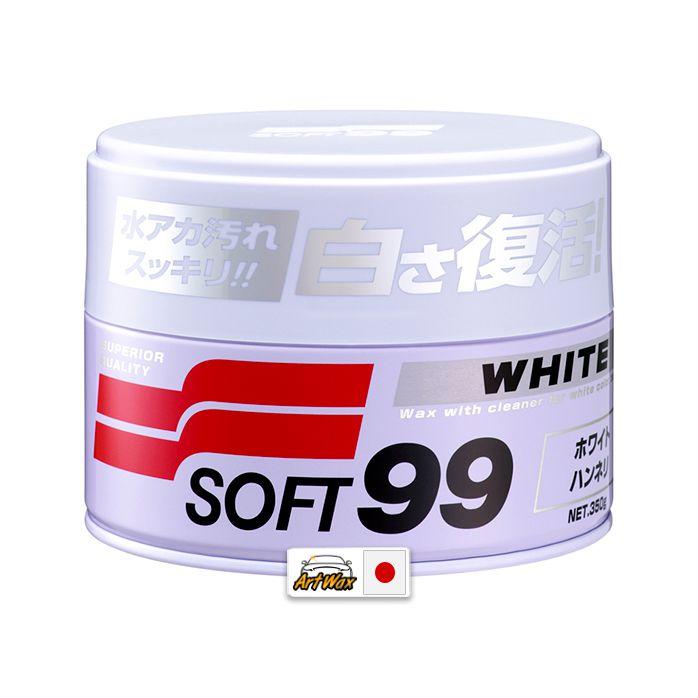 Soft99 White Cleaner Cera Limpadora de carnaúba 350g