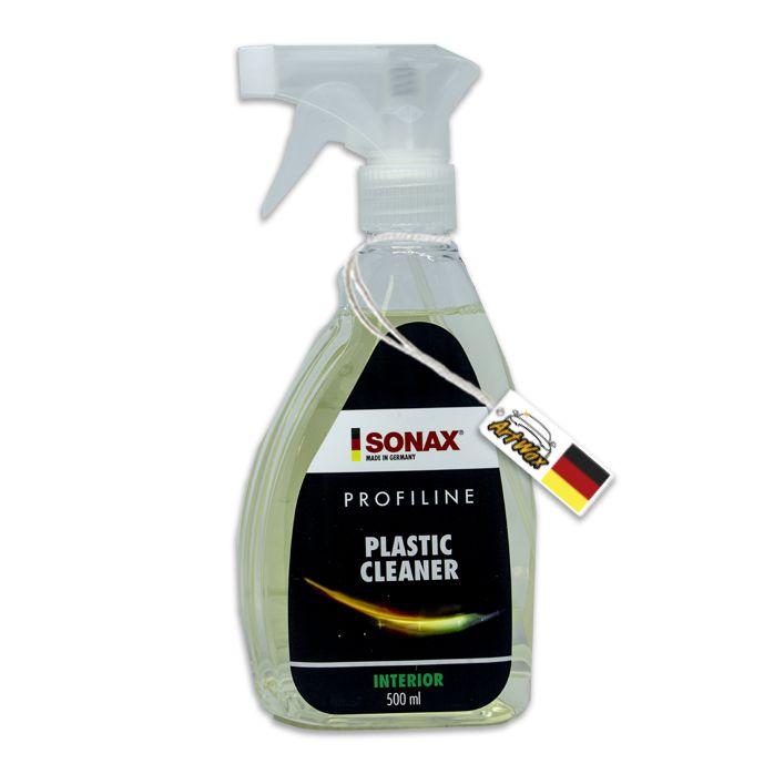 Sonax Plastic Cleaner 500ml - Limpa Plásticos