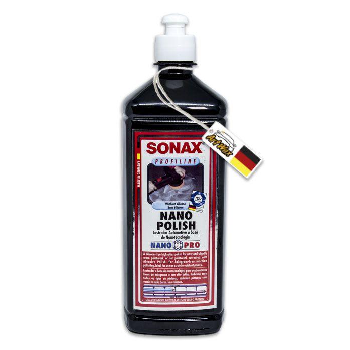 Sonax Nano Polish 1kg - Polidor de Médio corte