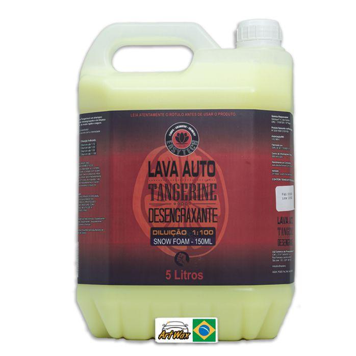 Tangerine Shampoo Desengraxante Easytech 1:100 - 5l Concentrado