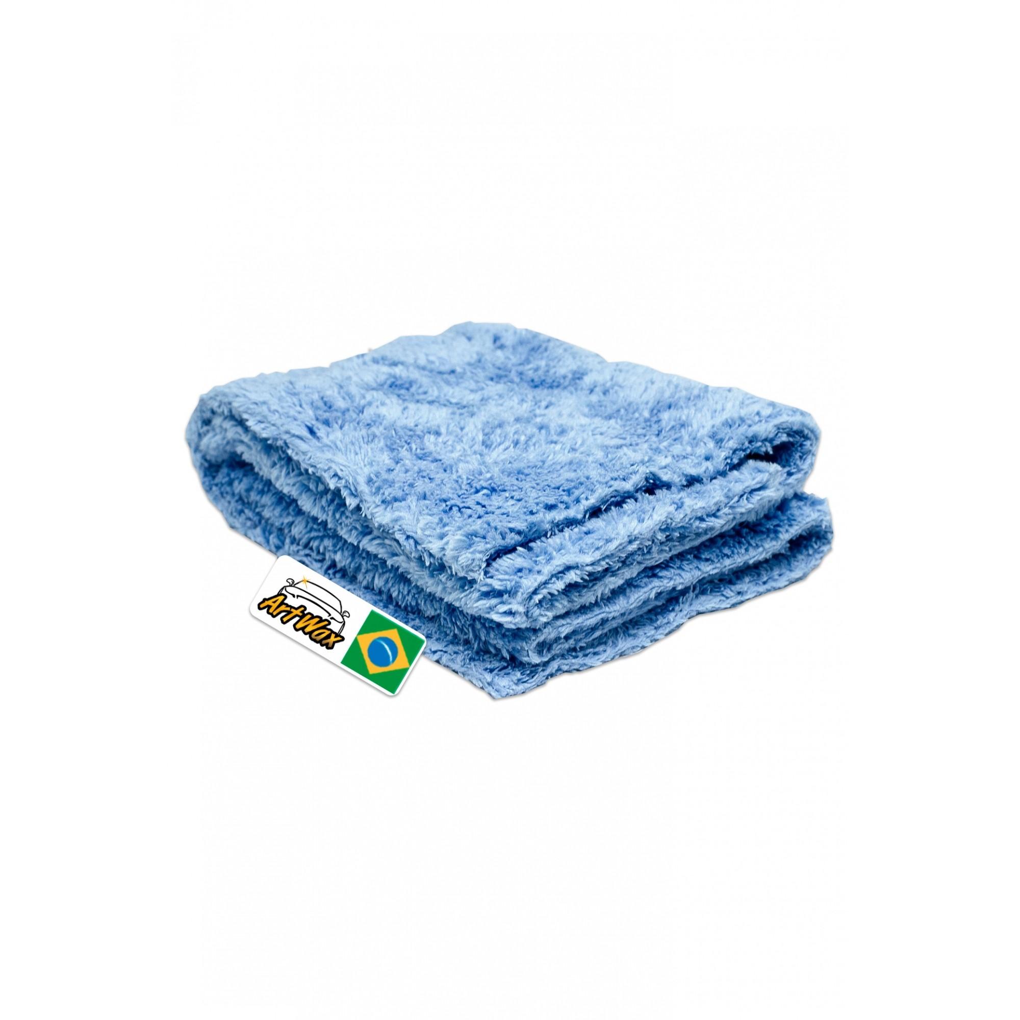 Toalha de Microfibra Azul DB Towel Polish 40x40cm - 500gsm Dub Boyz