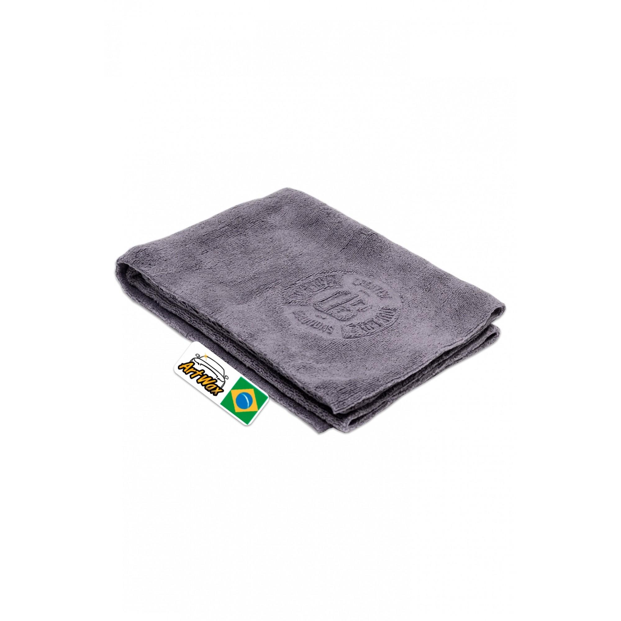 Toalha de Microfibra Cinza DB Towel 40x40cm - 350gsm Dub Boyz