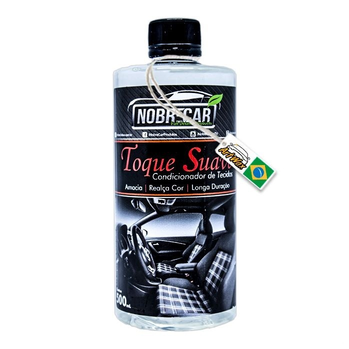 Toque Suave Condicionador de Tecidos Nobre Car 500ml
