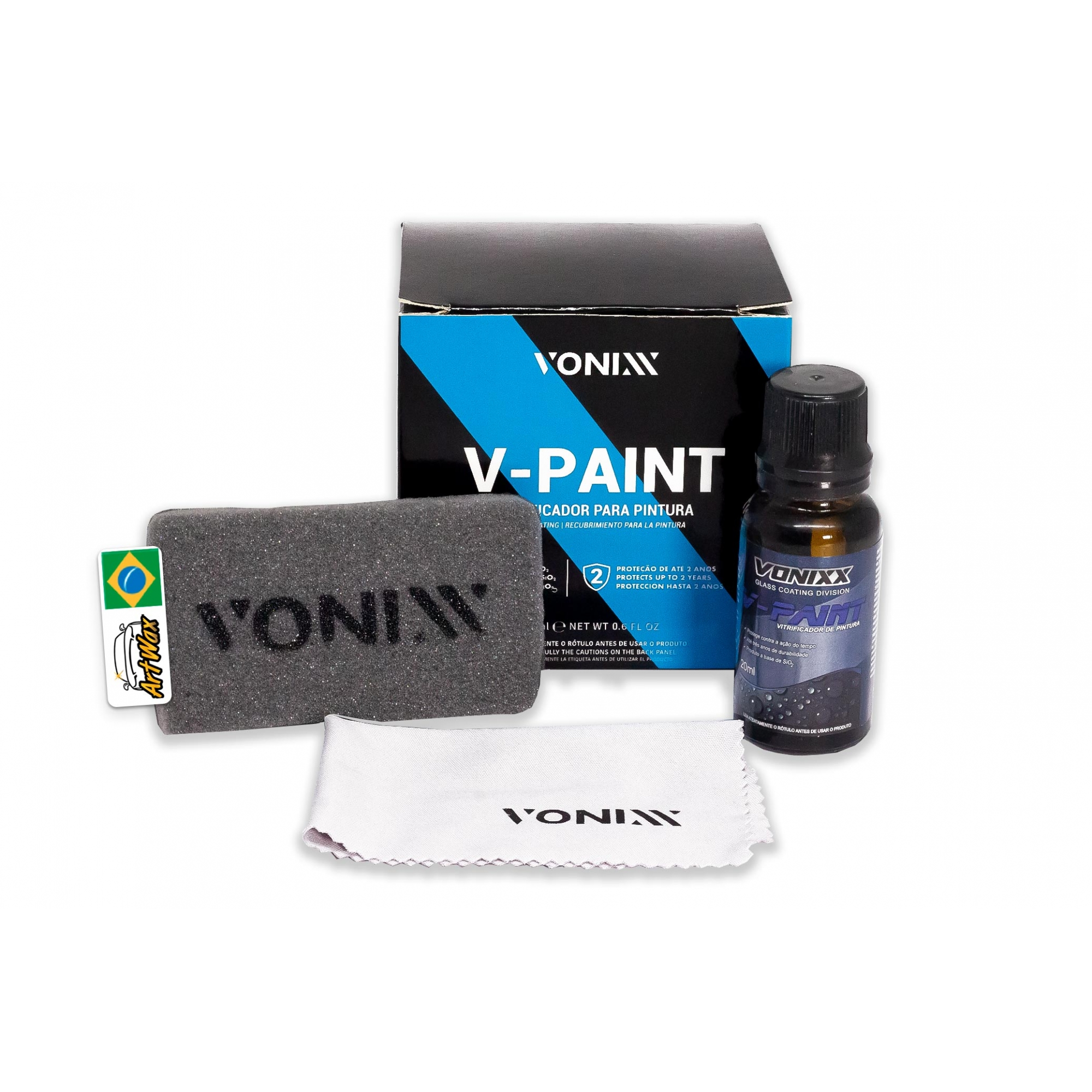Vitrificador de Pintura Vonixx V-Paint - 20ml
