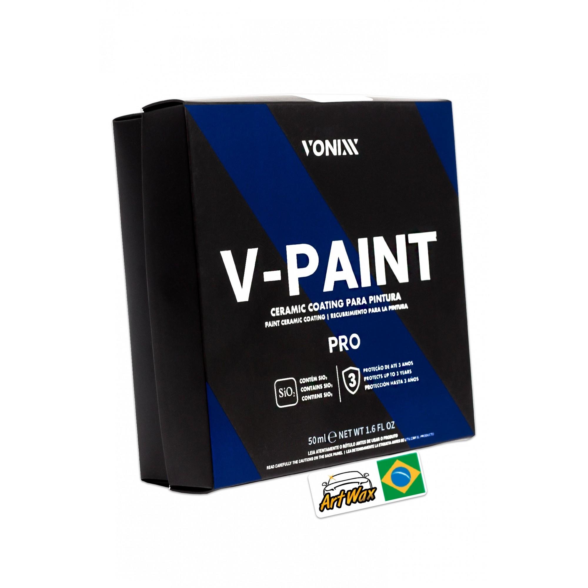 Vitrificador de Pintura Vonixx V-Paint - 50ml