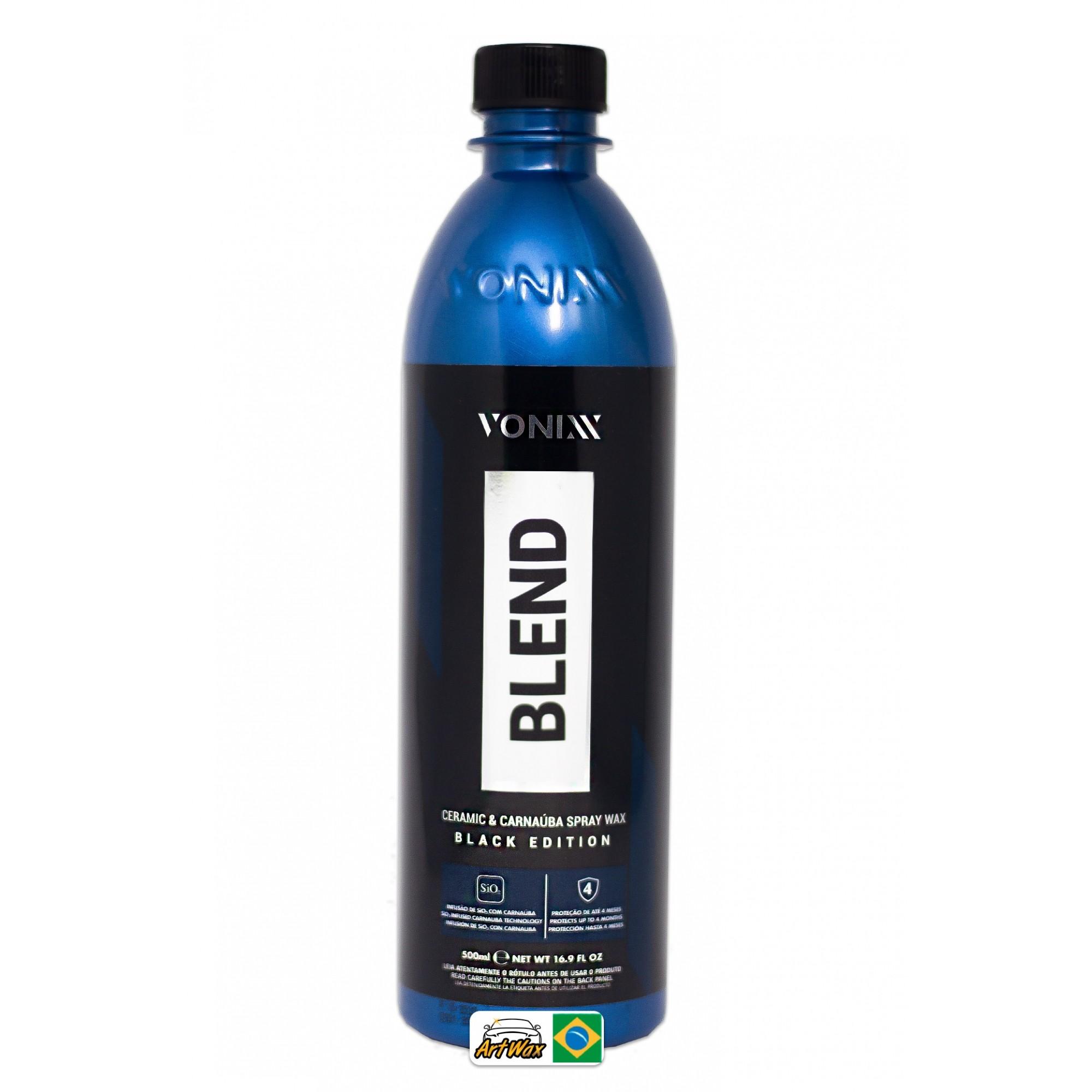 Vonixx Blend Spray Black Edition 500ml - Cera Spray Com Sio2