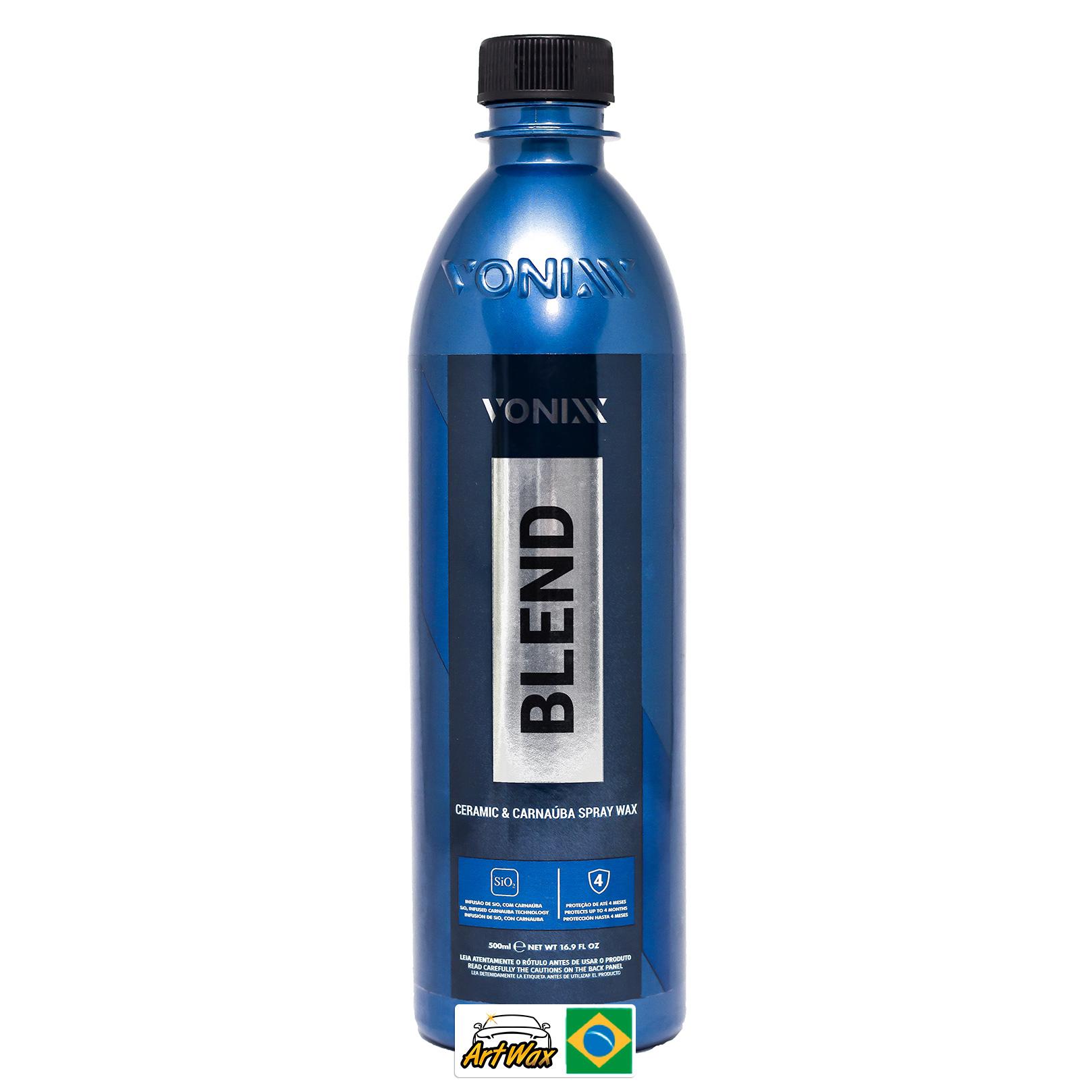 Vonixx Blend Spray Cera Protetora de Carnaúba Silica 437ml (Sem Gatilho)