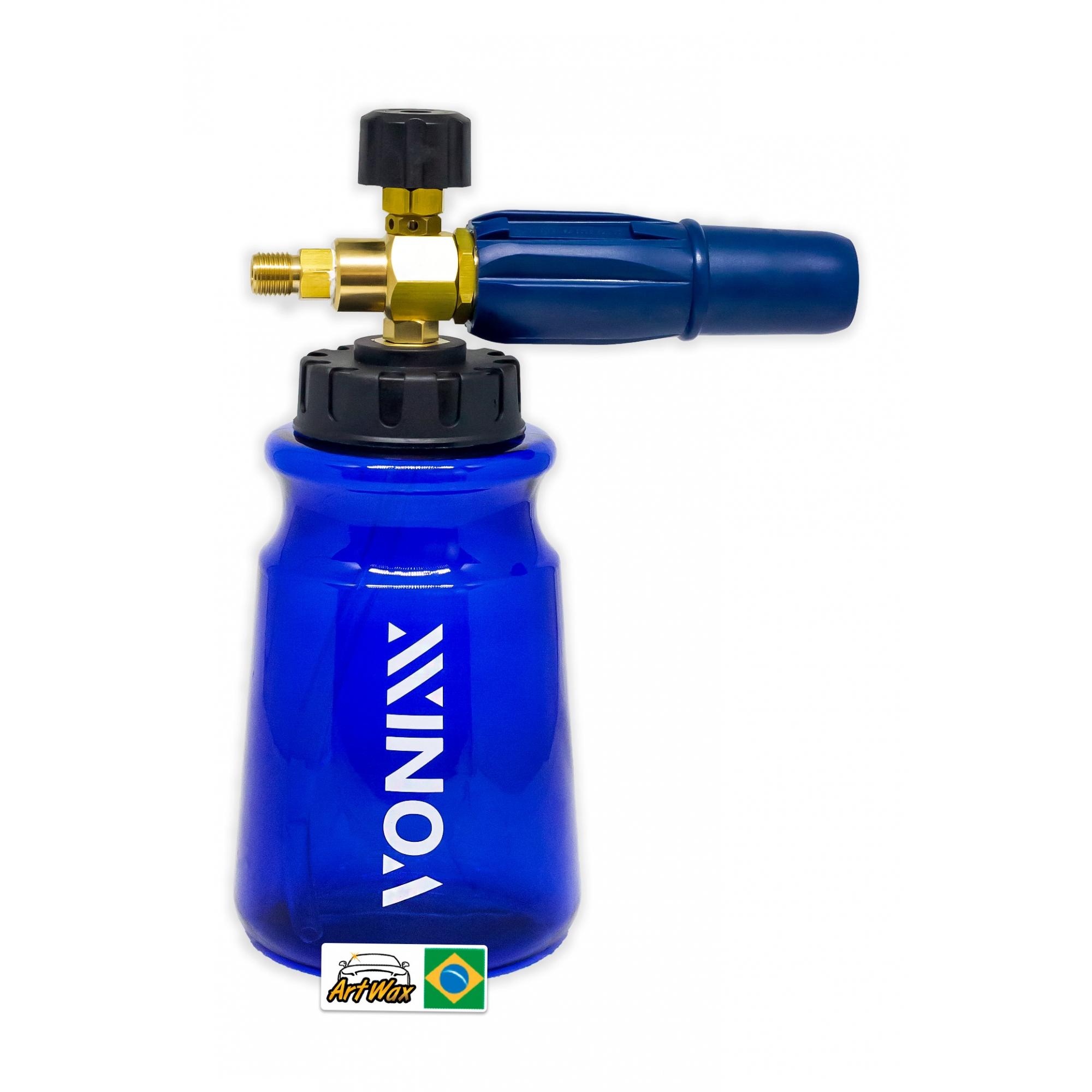 Vonixx Canhão de Espuma Snow Foam Fast 1L - Resistente do pH 4 à 10
