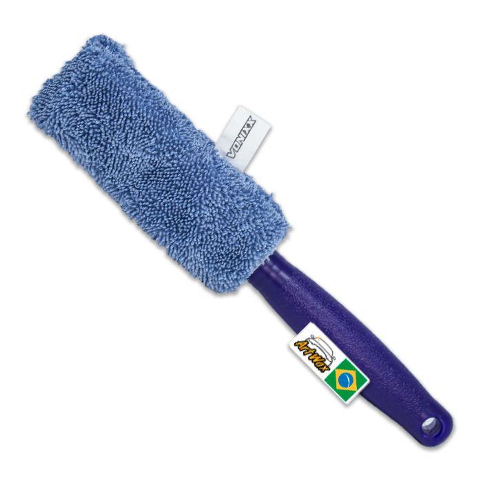 Vonixx Escova de Microfibra para Limpeza de Aros