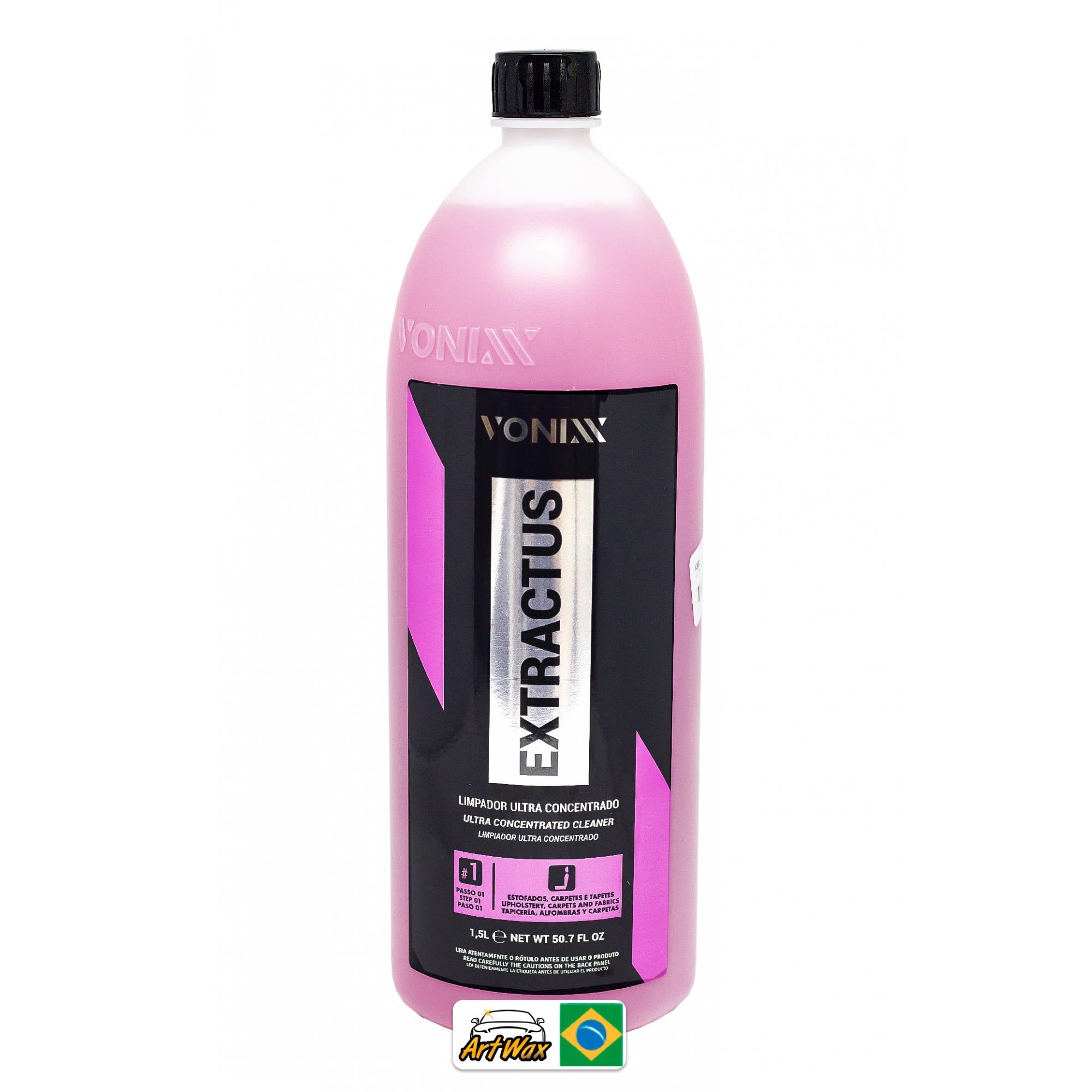 Vonixx Extractus 1,5L - Limpador Concentrado Estofados e Carpetes Extratora = VSC 1