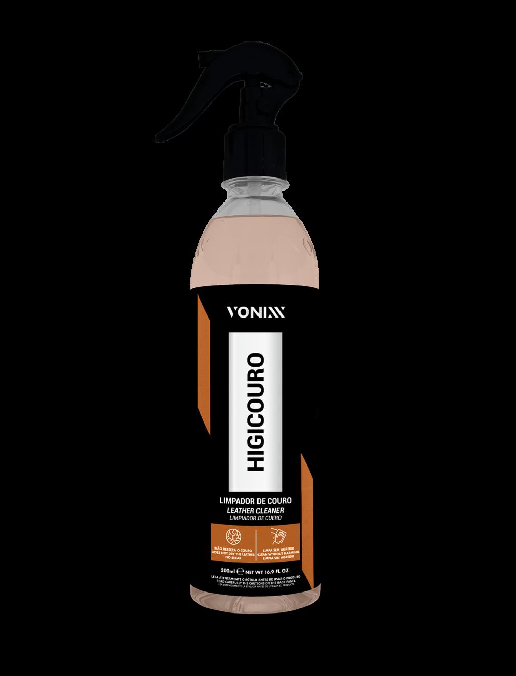 Vonixx Higicouro 500mL - Limpador de bancos de Couro