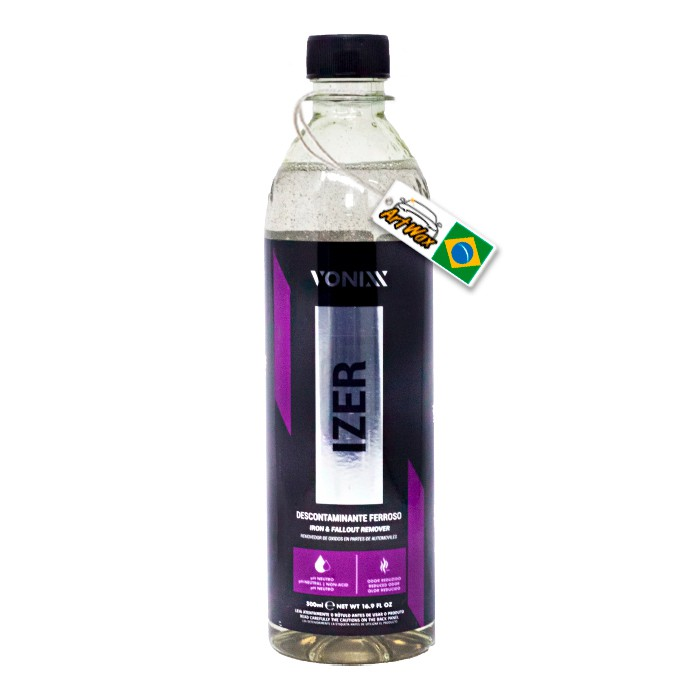 Vonixx Izer 500ml - Descontaminante Ferroso (Sem Gatilho)
