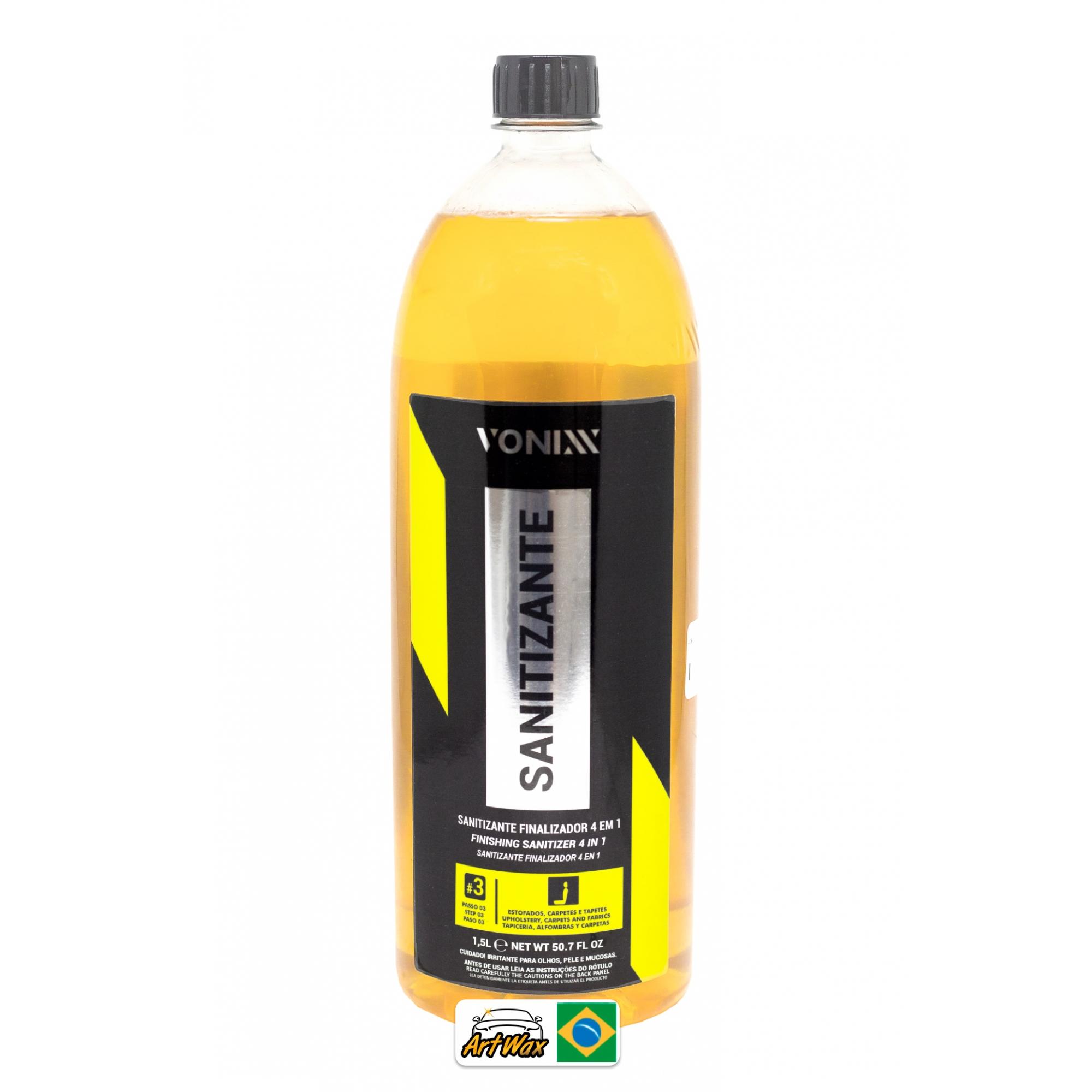 Vonixx Sanitizante Finalizador 1,5L - Estofados e Carpetes = VSC 3