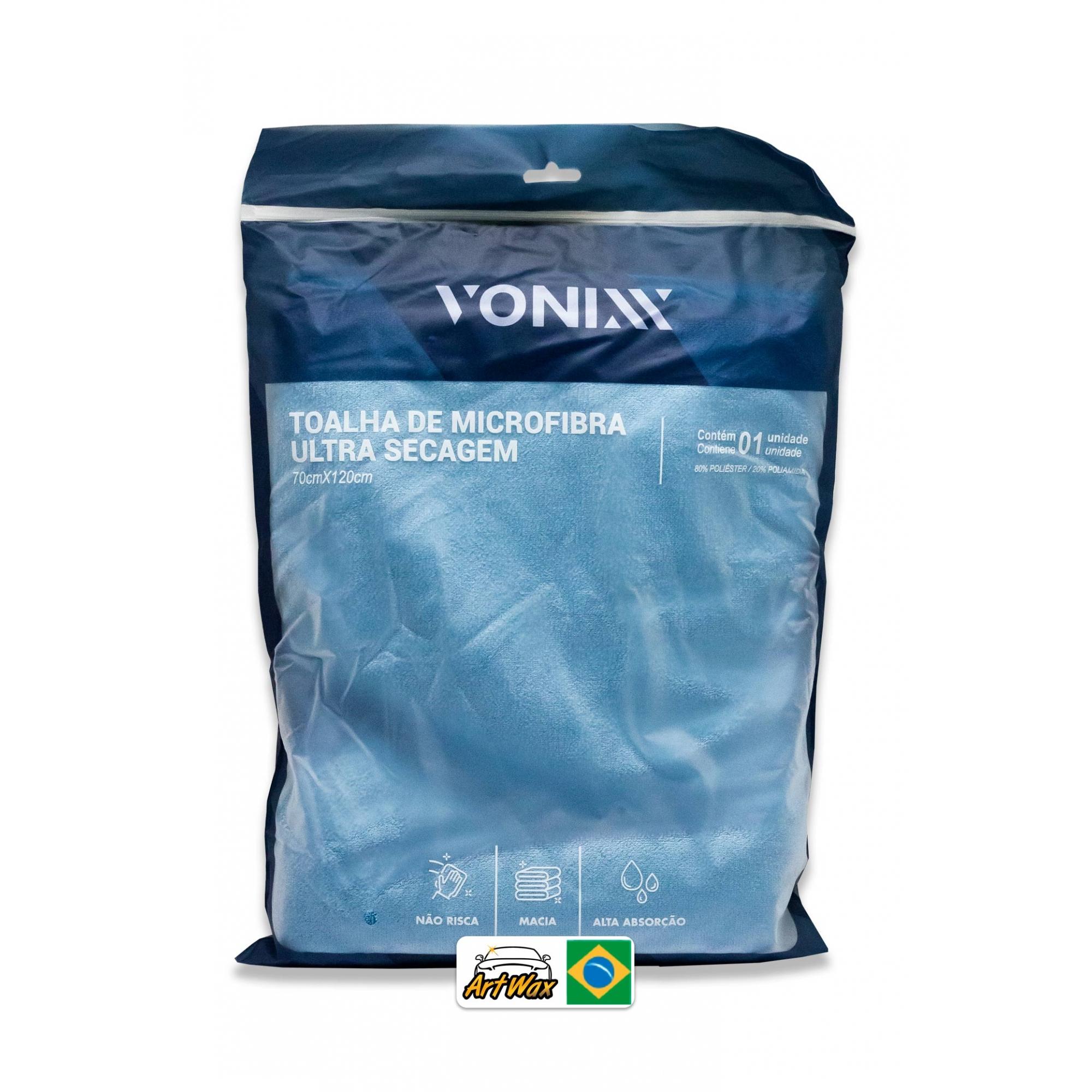 Vonixx Toalha Ultra Secagem 70x120cm 400gsm