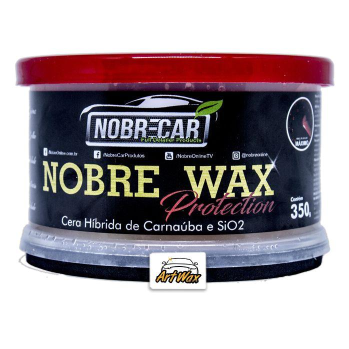 Wax Protection Cera de Carnaúba com SiO2 Nobre Car 350gr