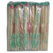100 Pares Hashi Bambu Lacrado Embalagem - Waribashi