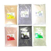 Argila  Branca  Amarela  Verde Cinza  Preta Vermelha  100% Puro
