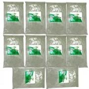 Argila Verde 10 pacotes de 1 Kg  Ervas e Raízes   100% Pura