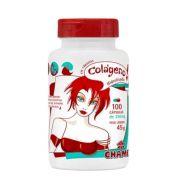 Colágeno em Cápsulas  Chamel    100 cápsulas de 300mg