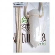 Difusor Pessoal  Colar de Quartzo Branco formato em ponta (Perfumeira p/ Aromaterapia)