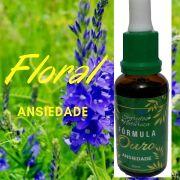 Floral -  Ansiedade -  Fórmula Ouro - Segredos da Natureza - Floral Vibracional