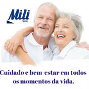 Fralda Adulto Mili Vita- Tamanho M (18 fraldas)