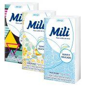 Lenço de Bolso Papel Descartável  MILI- 30 Pacotes c/ 10 Unidades (total: 300 lenços)
