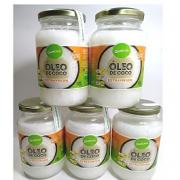 Oleo de Coco EXTRA Virgem 5 Vidros de 500 ML- Qualicoco