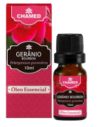 Óleo Essencial de Gerânio Bourbon 10ml - 100% Puro - Chamed
