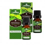 Óleo Essencial de Patchouli 10ml   100% Puro  2 Frascos    CHAMED  Fabricante: Chamel