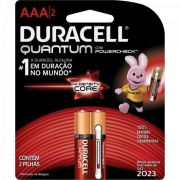 Pilha Quantum AAA -DURACELL - 36 Pilhas