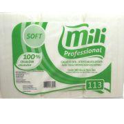 Toalha de Papel Interfolhas - MILI-SOFT-1000 Folhas