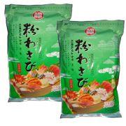 Wasabi em Pó Importado - Raiz Forte - 2 Pacotes de 1,01 Kg - Fukumatsu