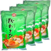 Wasabi em Pó  Importado - Raiz Forte  4  Pacotes de 1,01Kg