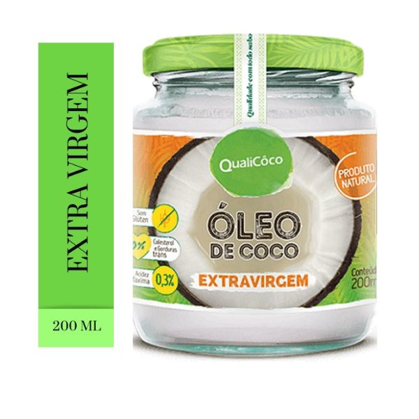 5 Oleo de Coco Extra Virgem200 ml- Qualicoco