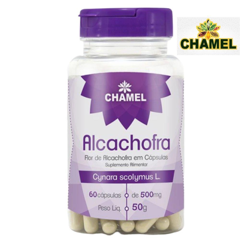 Alcachofra  60  Cápsulas  de 500mg Chamel