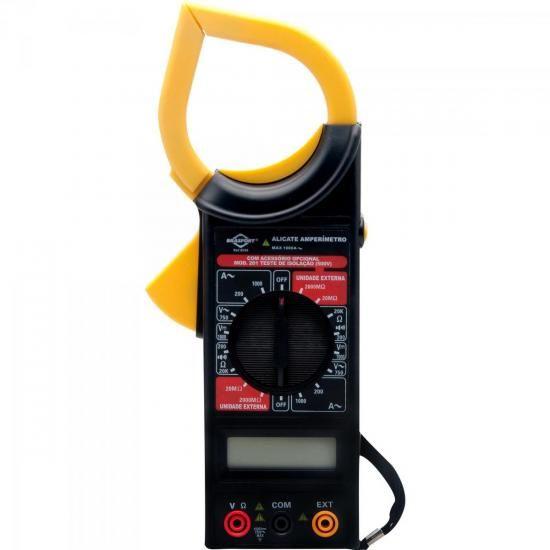 Alicate Amperimetro Digital com Estojo 8559 Brasfort