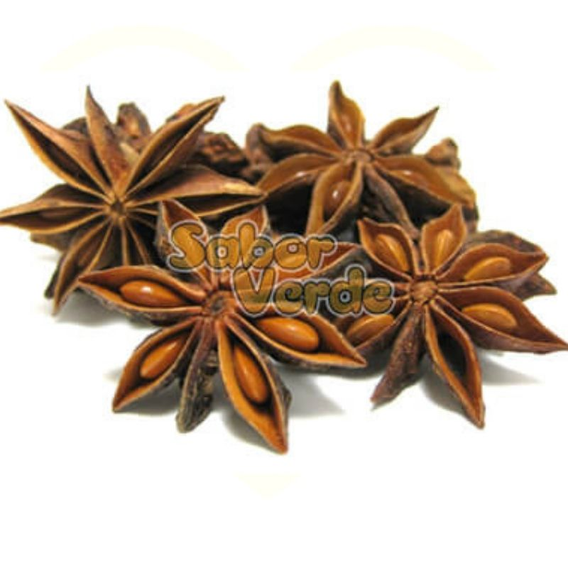 Anis Estrelado - 500gr - Sabor Verde (a granel)