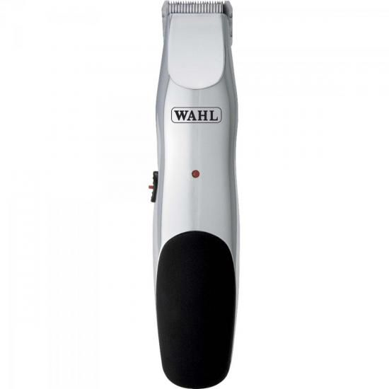 Aparador de Pelos Faciais Beard Rechargeable Trimmer Prata Bivolt WAHL