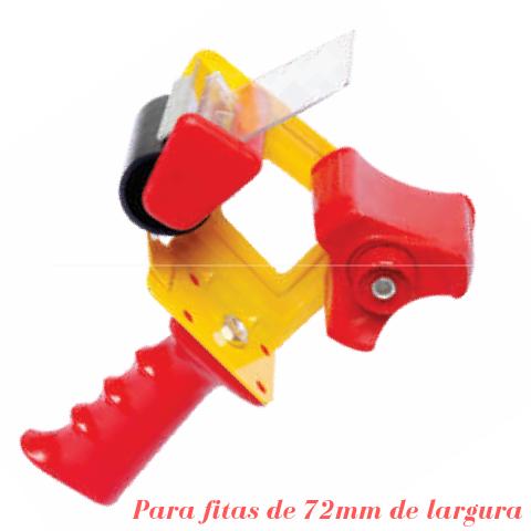 Aplicador de Fita Adesiva com Cabo -  para Fitas de Largura 72MM